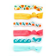 The California Package hair ties by Mane Message