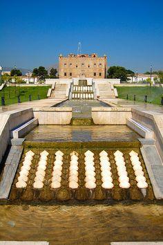 La Zisa (Dar-al-Aziz), Palermo - Sicily (1167 AD)