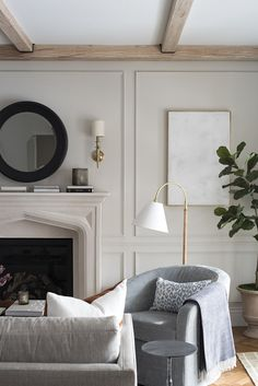 Formal Living Room : One Room Challenge – Room Reveal – Family Room İdeas 2020 Cozy Living Spaces, Formal Living Rooms, Home Living Room, Living Room Designs, Living Room Decor, Modern Living, Minimalist Living, Simple Living, Luxury Living