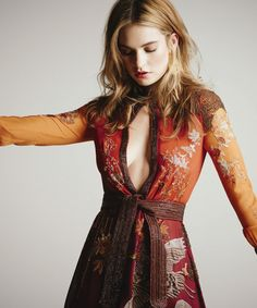 Lily James for The Hollywood Reporter (March 2015)