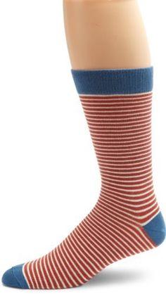 PACT Men's Barn Red Railroad Stripe Crew Sock, Barn Red Railroad Stripe, One Size PACT. $10.00. Machine Wash. No pesticides, no fertilizers, no bleaches, no sweatshops, no nasty stuff at all.. This item fits true to size.. 90% Organic Cotton/7% Nylon/3% Lycra