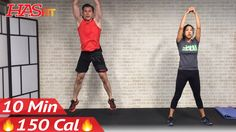 10 Minute Workout : HIIT No Equipment Cardio Workout without Equipment a...