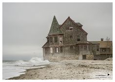 Rosebud Beach. on Flickr. Constructed in 1899 - Shingle-style Queen Anne.