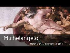 Michelangelo Homeschool Art Project - http://www.tableof4please.com - YouTube