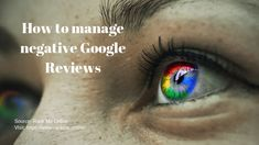 Understand how Google Reviews are important to your company and how to manage them. Reputation Management, Management Company, Bad Reviews, The Help, How To Remove, Social Media, Google, Social Networks, Social Media Tips