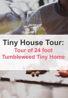 This tiny house is a 24 foot Tumbleweed Tiny House that is designed using the Cypress plan. It has bedrooms both upstairs and downstairs which makes it able to comfortably sleep five people. Features      RVIA Certified     Tumbleweed cypress plan     Retails at about $70,000     Storage staircase that leads to loft     Dining table for three with three stools