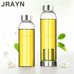 Glass With Tea Infuser Water Bottle With Stainless Steel Filter Brief Style Camp Applicable In-Stock Items For gifts Student Cup #clothing,#shoes,#jewelry,#women,#men,#hats,#watches,#belts,#fashion,#style