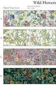 Image result for british wildflower fabric