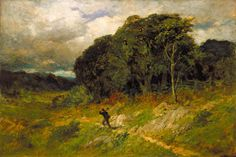 Edward Mitchell Bannister - Approaching Storm,1886