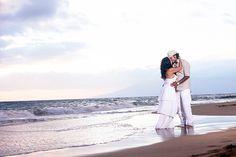 Intimate Maui Wedding Couple