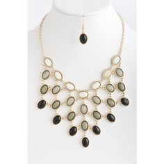 Coal Mine Statement Necklace - Hot and Trendy - Jewelry $21