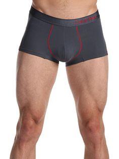 Calvin Klein Underwear Pro Stretch Reflex Low-Rise Trunk U7071 Black - Zappos.com Free Shipping BOTH Ways ($28)