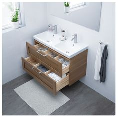 IKEA offers everything from living room furniture to mattresses and bedroom furniture so that you can design your life at home. Check out our furniture and home furnishings! Bathroom Renos, Bathroom Faucets, Bathroom Wall, Small Bathroom, Loft Bathroom, Sinks, Vanity Countertop, Plastic Drawers, Laminate Countertops