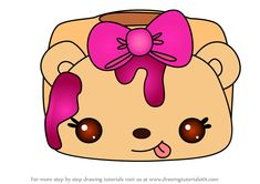 How to Draw Rosie Raspberry from Num Noms step by step, learn drawing by this tutorial for kids and adults. Learn Drawing, Learn To Draw, Nom Noms Toys, Shopkins, Step By Step Drawing, Doodle Art, Cute Drawings, Raspberry, Hello Kitty
