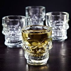 Check this out!! The Kitchen Gift Company have some great deals on Kitchen Gadgets & Gifts Skull Shot Glasses #kitchengiftco