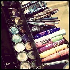 Kit de maquillaje Maybelline New York  en el Mercedes-Benz Fashion Week. #Maquillaje #MaybellineNewYork #Venezuela