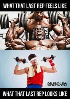 OMFG the last rep...!!
