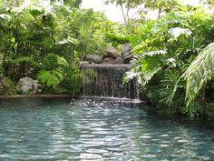 Silencio del Campo hot spring