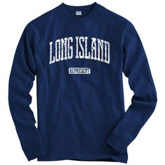 LS Long Island Represent Tee  Long Sleeve T-shirt  by smashtransit
