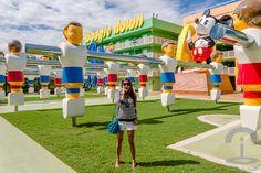 Disney Pop Century Resort Crimenes de la Moda