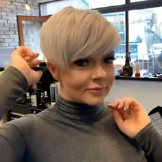 You can't even imagine how many mesmerizing short hairstyles for women over 40 there are. # short hair styles over 40 for women Best Short Pixie Hairstyle For Women Over 40 Short Pixie Haircuts, Cute Hairstyles For Short Hair, Haircut Short, Blonde Pixie Hairstyles, Short Womens Hairstyles, Short Hair With Undercut, Short Undercut Hairstyles, Short Pixie Cuts, Hairstyles For Older Women