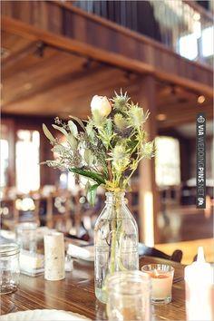 rustic wedding flower arrangements | CHECK OUT MORE IDEAS AT WEDDINGPINS.NET | #weddings #weddingflowers #flowers