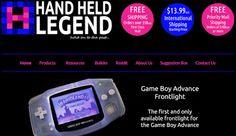 とんちき録: Gameboy Custom Parts Shop 【HAND HELD LEGEND】