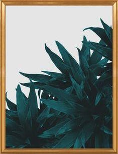 """End up here - 28"""" x 36"""" - Gold leaf wood frame, no mat"""