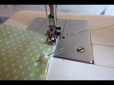 Cipzár bevarrás neszesszerbe - lépésről lépésre /zipper sewing case - YouTube-