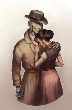 valentine Fallout Fan Art, Fallout Game, Fallout New Vegas, Fallout 4 Nick Valentine, Fallout 4 Companions, Tomb Raider Cosplay, Valentines Art, Video Game Art, Character Concept