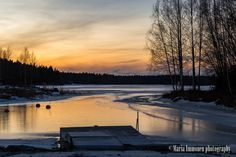 Cold sunset. - Clickasnap