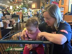 The exchange between this little baby and a cashier with Down Syndrome is unbelievable