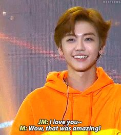his smile, jaemin is very handsome.