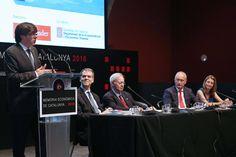 """President Puigdemont: """"O actuem per tenir els instruments a les nostres mans o anirem perdent els nostres trets definitoris de país industrial, emprenedor i obert al món"""""""