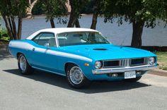 127 1973 Plymouth Barracuda Blue