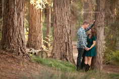Engagement Photos Redwood trees - yes, this is me!