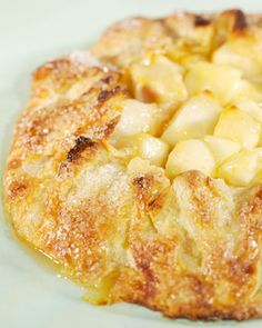 Pear Galette Recipe | Cooking | How To | Martha Stewart Recipes  Has video too.