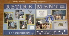 Retirement ceremony - Scrapbook.com