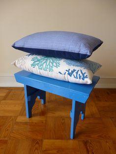 Mais umas almofadas exclusivas Maria Inês Home Style. Com um enchimento super-fofo e fecho para poderem ser lavadas.