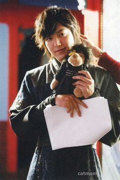 Lee Min Ho ~ Faith--oh goodness too cute. I love that it has the flower too.