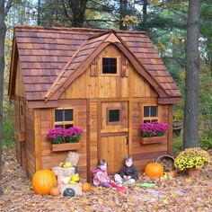 Laurens Cottage Playhouse - Outdoor Playhouses at Hayneedle