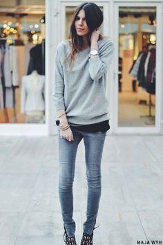 Grey Sweatshirts