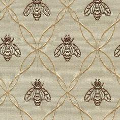 honey bee fabric | Home Gallery Furniture for Fabrics, 4865-075 Honeybee Linen (1 yd)