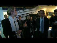 La Politique Delphine Batho en visite au Hive, Siège Social de Schneider Electric à Rueil Malmaison - http://pouvoirpolitique.com/delphine-batho-en-visite-au-hive-siege-social-de-schneider-electric-a-rueil-malmaison/