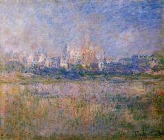 Vetheuil in the Fog, 1879 - Claude Oscar Monet - The Athenaeum