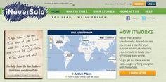 iNeverSolo, el sitio web que avisa a tus contactos sino vuelves de un entrenamiento | Medidas de Seguridad para Corredores