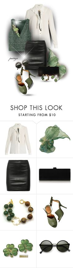 """""""Lucky Charms"""" by rockreborn ❤ liked on Polyvore featuring Miu Miu, The Row, Edie Parker and Givenchy"""