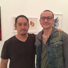 Joe Hahn and Chester Bennington - Linkin Park