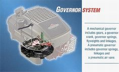 How a Small Engine Governor Works