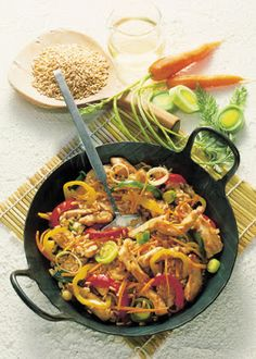 Low cholesterol recipes: vegetable stir-fry with turkey meat | Food & Drink